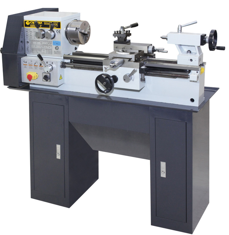 LATHE METAL 10IN. X 18IN. 3/4 HP W/STAND CX708