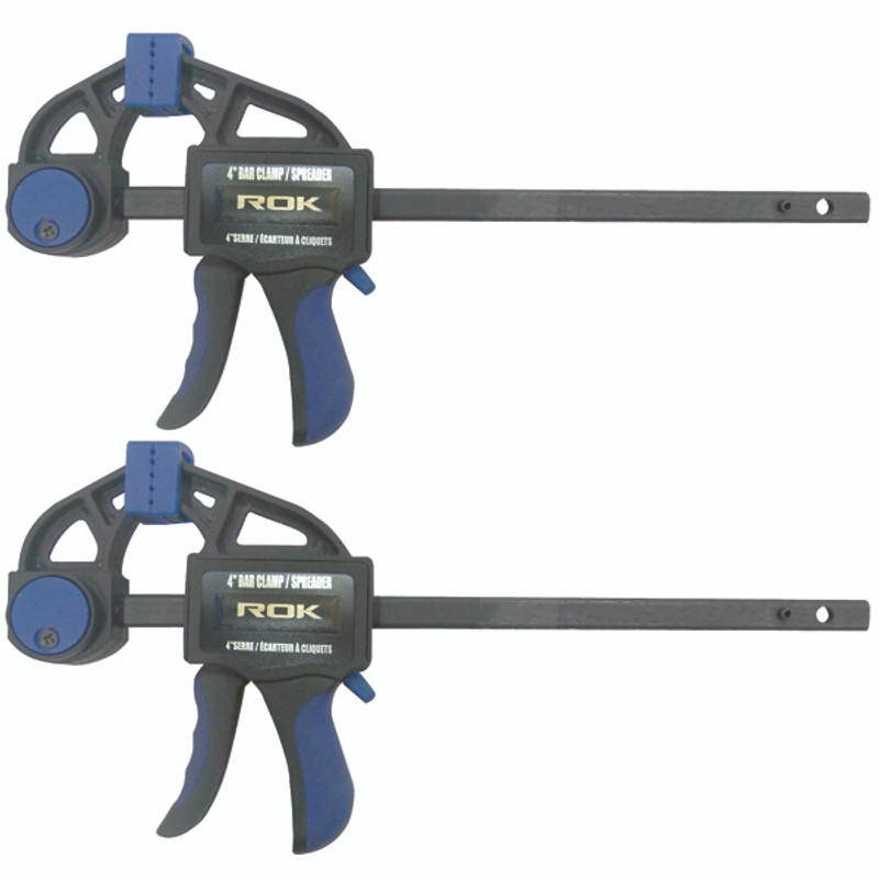 RATCHETING CLAMP 4IN MINI 2PC