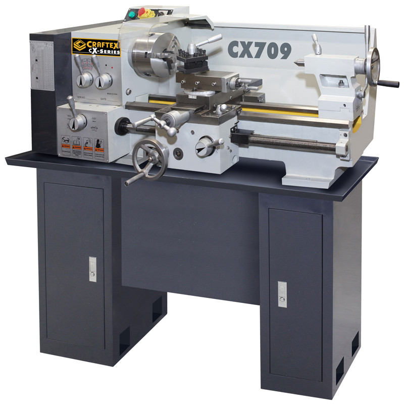 13IN. X 24IN. METAL LATHE WITH STAND CRAFTEX CX709