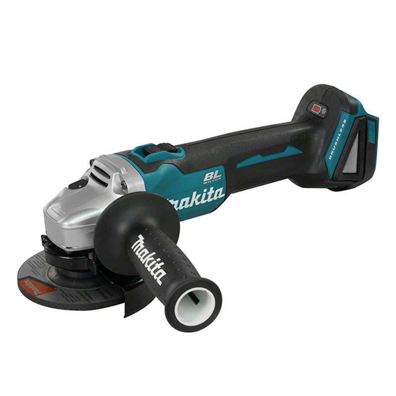 MAKITA 4 1/2IN. CORDLESS ANGLE GRINDER WIT