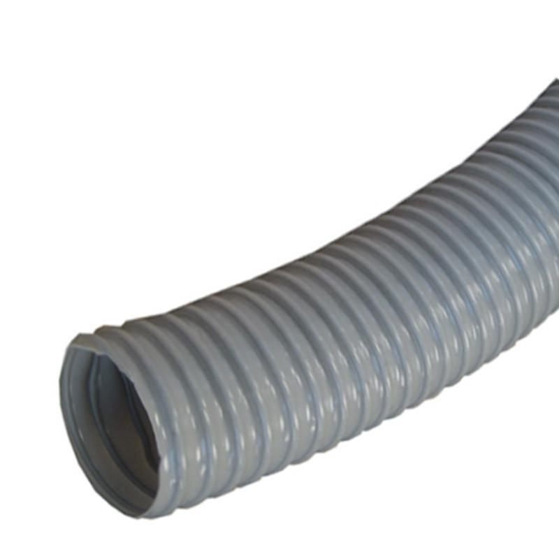 PVC HOSE 5IN. GREY 10 FEET