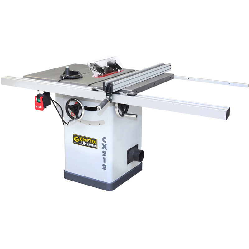 10IN. CABINET SAW 2HP CSA CRAFTEX CX212