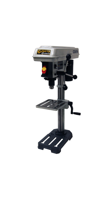 10IN. DRILL PRESS WITH LED LIGHT CRAFTEX C CX616