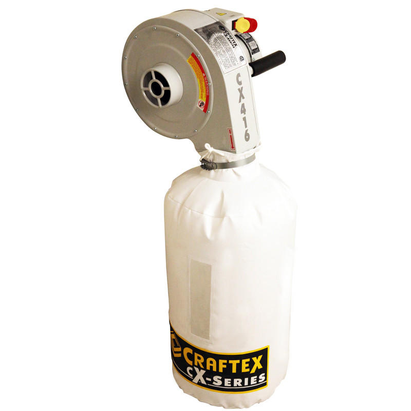 WALL MOUNT DUST COLLECTOR 1HP CSA