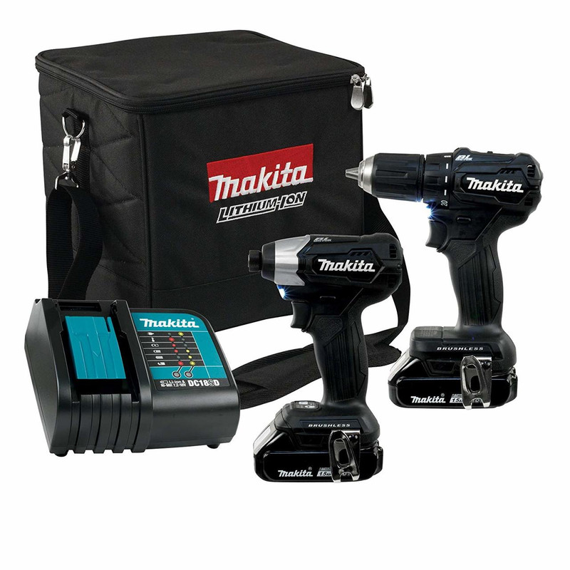 18V DRILL AND DRIVER COMBO W/2 BATT CHARGE