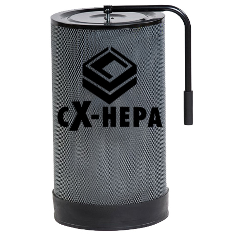 HEPA CANISTER FOR 1HP DUST COLLECTORS CXHEPA1