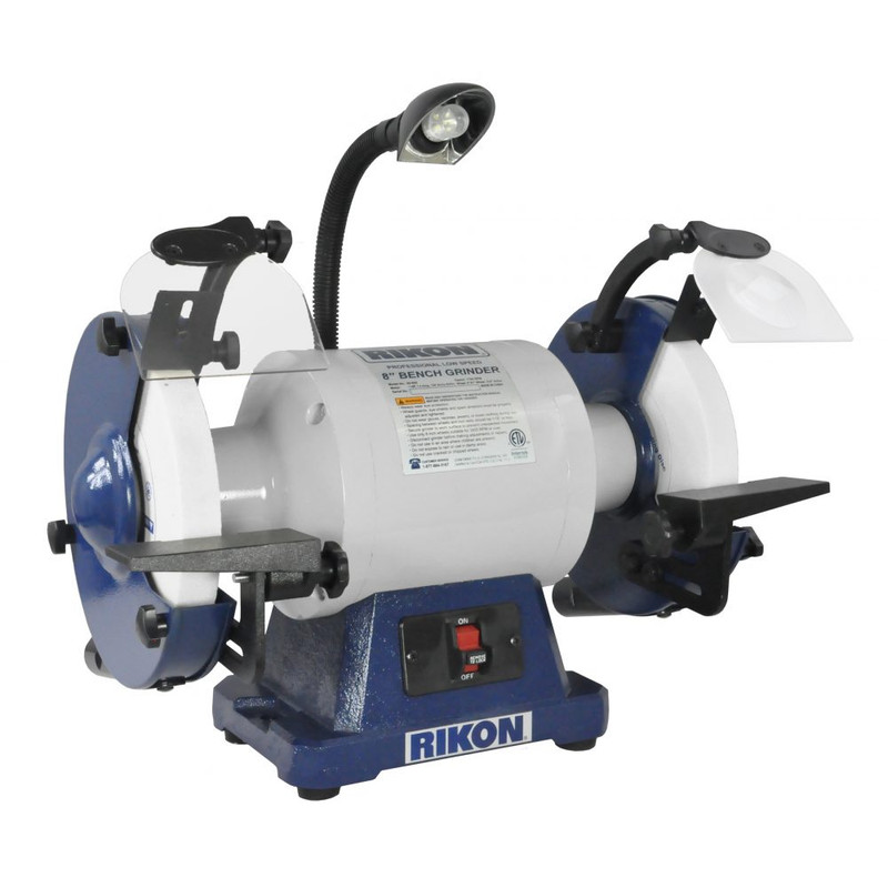 8IN. SLOW SPEED GRINDER RIKON