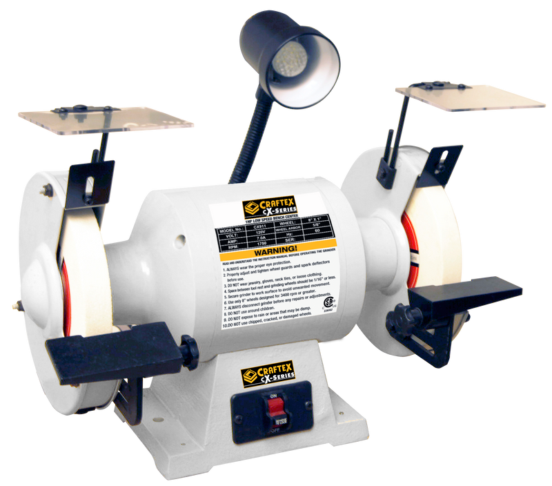 8IN. SLOW SPEED GRINDER CRAFTEX CX SERIES