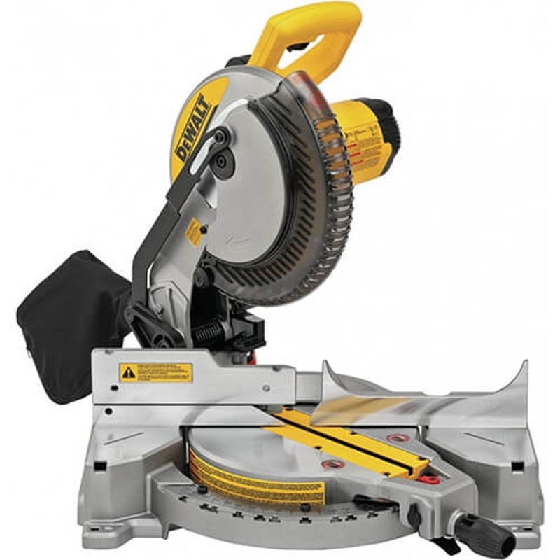 10IN. MITER SAW SINGLE BEVEL 15AMP DEWALT