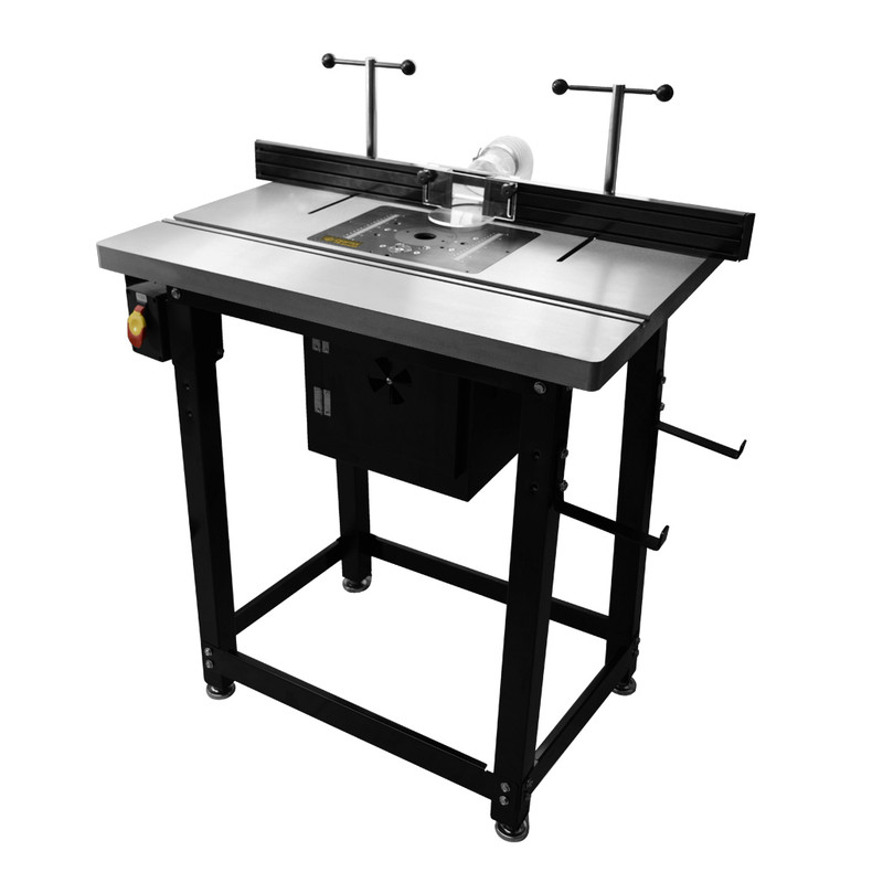 CAST IRON ROUTER TABLE PACKAGE WITH LIFT