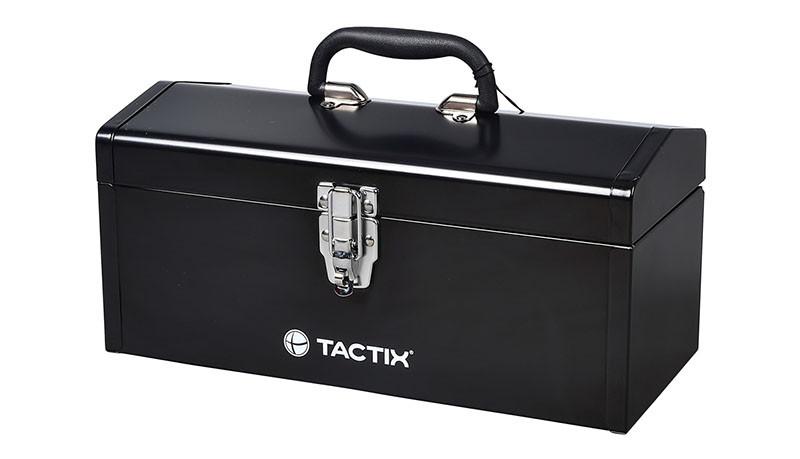 TACTIX STEEL HIP ROOF TOOL BOX 16IN.