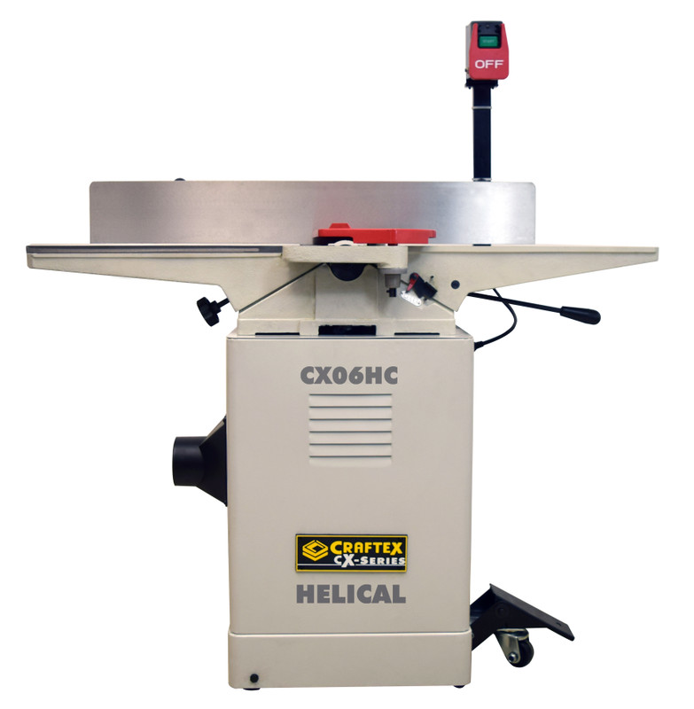 6IN. HELICAL JOINTER CRAFTEX CX SERIES