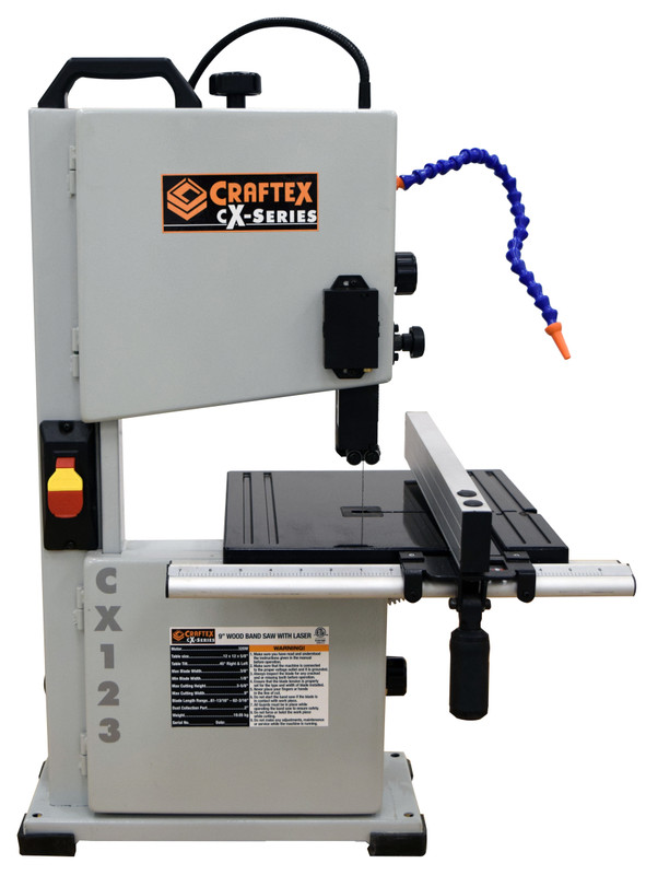 9IN. WOOD BANDSAW WITH LASER CSA CRAFTEX CX123