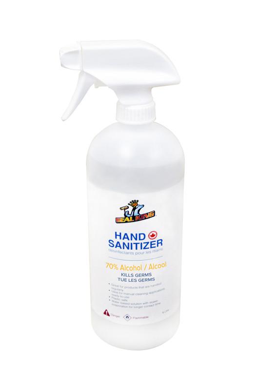 HAND SANITIZER LIQUID SPRAY 1 LITRE 70%