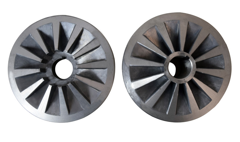 SPINDLE PULLEY SET LEFTAND RIGHT 28/30