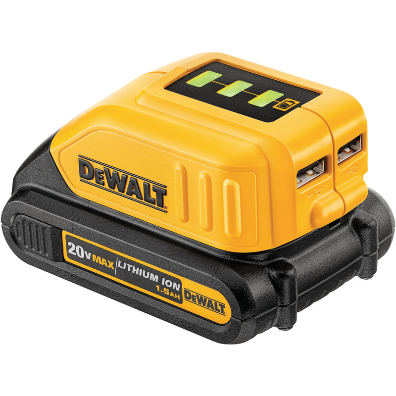 MAX USB POWER SOURCE CHARGER DEWALT