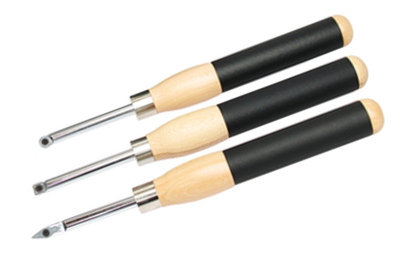 3PC INDEXABLE CARBIDE WOODTURNING CHISEL