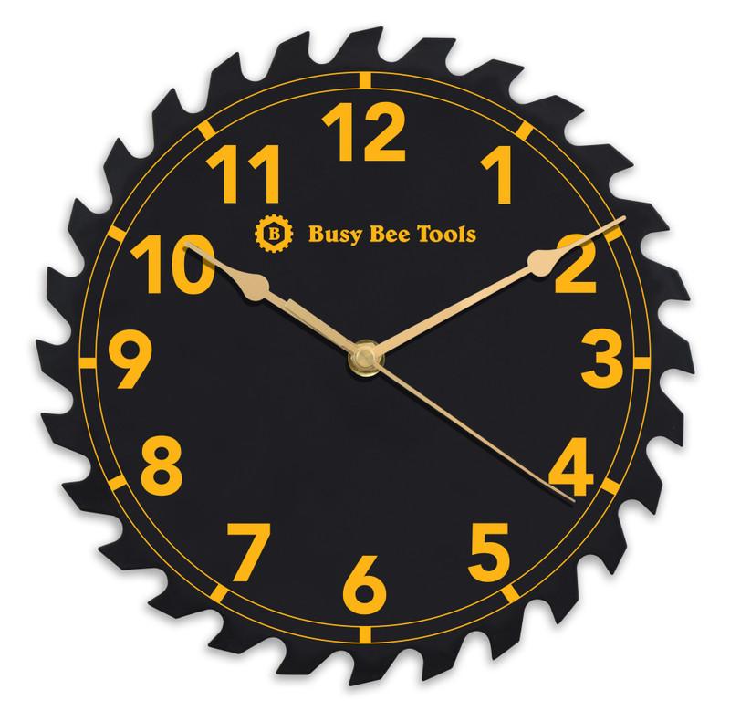 WORKSHOP SAW BLADE CLOCK