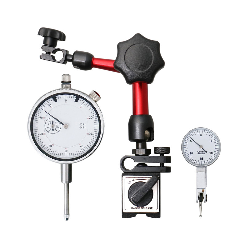 3PC PRECISION DIAL TEST INDICATOR AND T