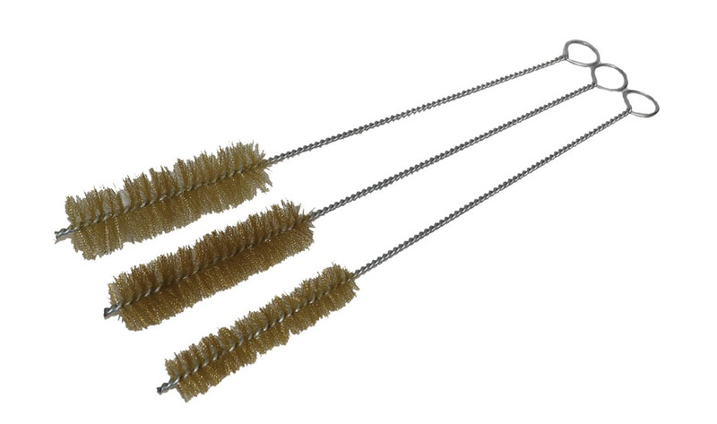 3 PC STEEL TUBE BRUSH SET