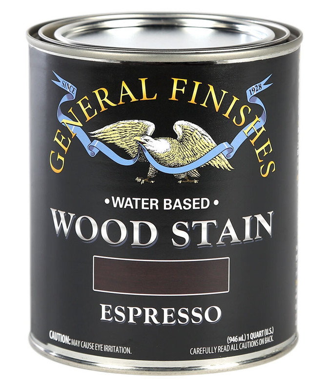 GENERAL WOOD STAIN ESPRESSO 1QT