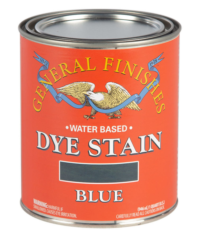 GENERAL DYE STAIN BLUE 1QT