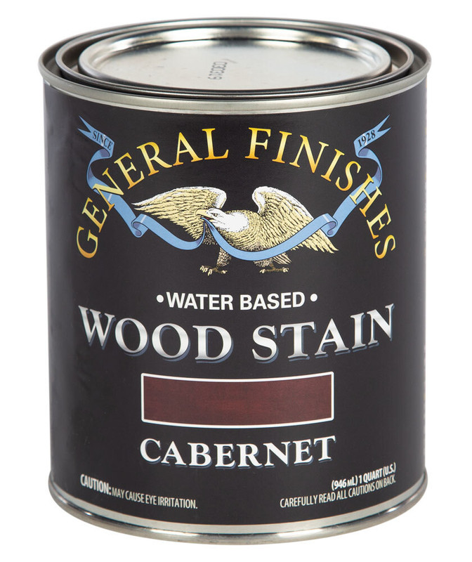 GENERAL WOOD STAIN CABERNET 1QT