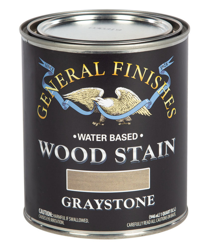 GENERAL WOOD STAIN GREYSTONE 1QT