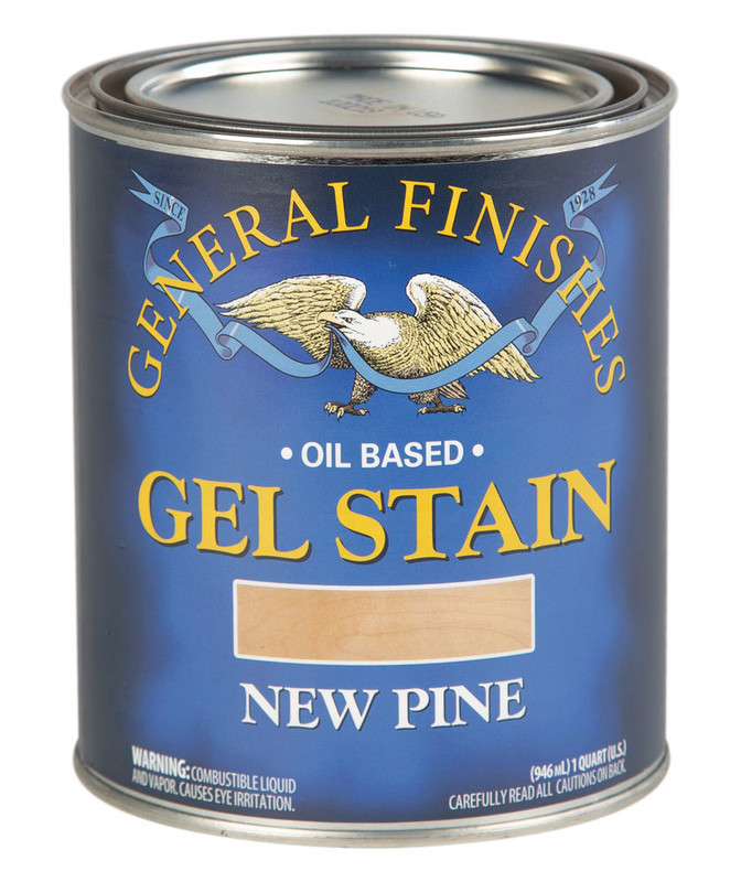 GENERAL GEL STAIN NEW PINE 1QT