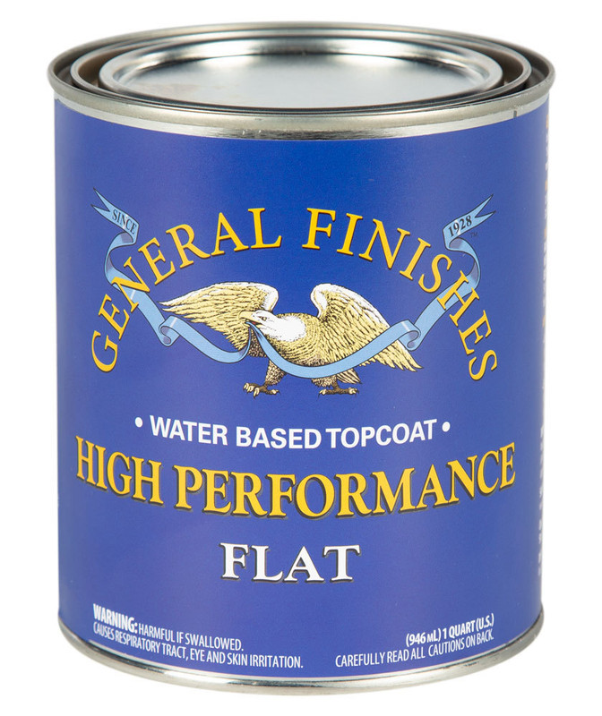 GENERAL HIGH PERF POLY FLAT 1QT