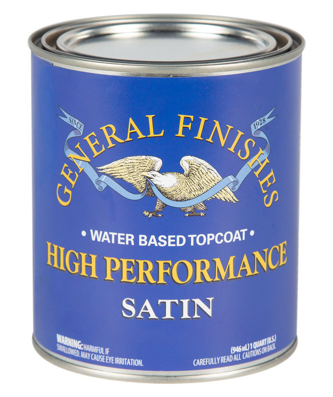 GENERAL HIGH PERF POLY SATIN 1QT