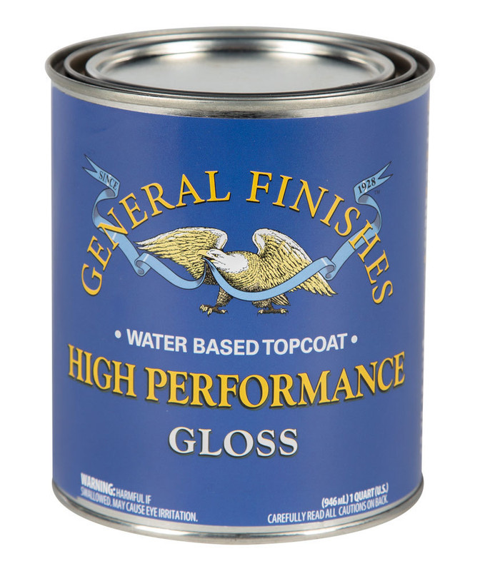 GENERAL HIGH PERF POLY GLOSS 1QT