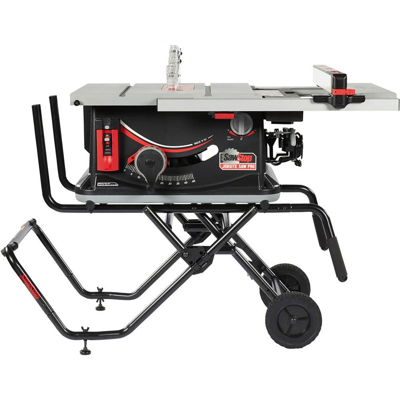 SAW STOP JOBSITE PRO 1.5HP 120V CART AND D