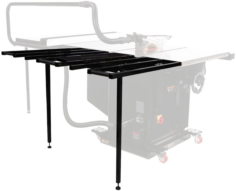 SAW STOP FOLDING OUTFEED TABLE