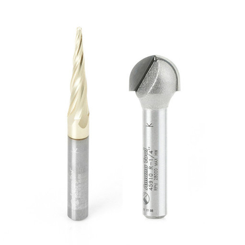 AXIOM CARVING BIT SET ICONIC BY AMANA TO