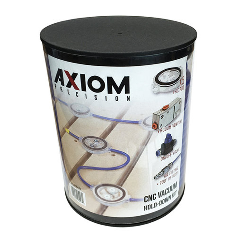 AXIOM VACUUM HOLD DOWN KIT 5 PODS