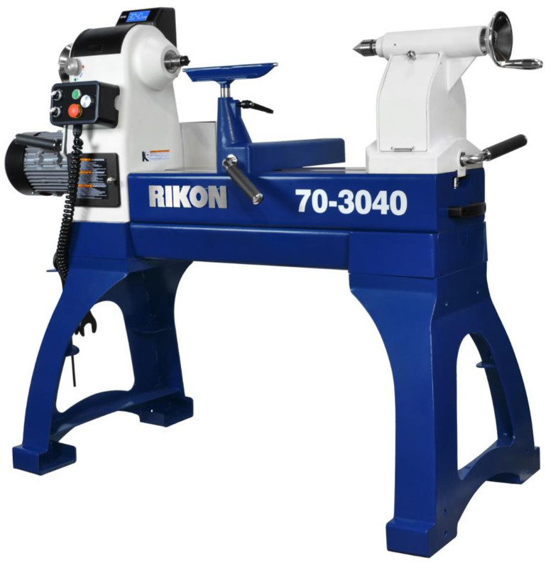 RIKON 30IN. X 40IN. VSR LATHE W/SLIDING BED