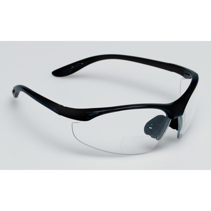 BIFOCAL SAFETY GLASSES 2.5 X