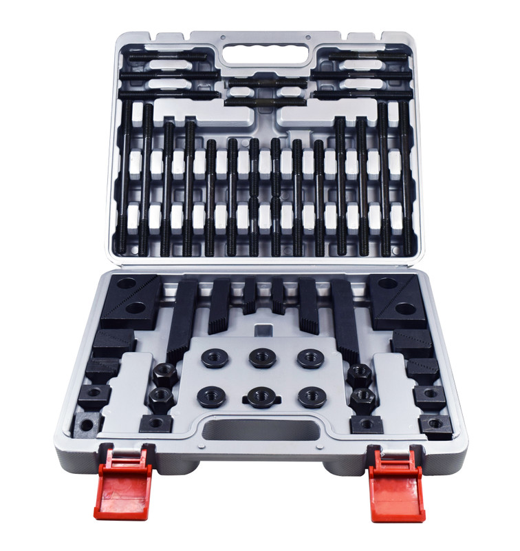 DELUXE 52PC CLAMPING KIT 1/2IN. X 13NC WIL