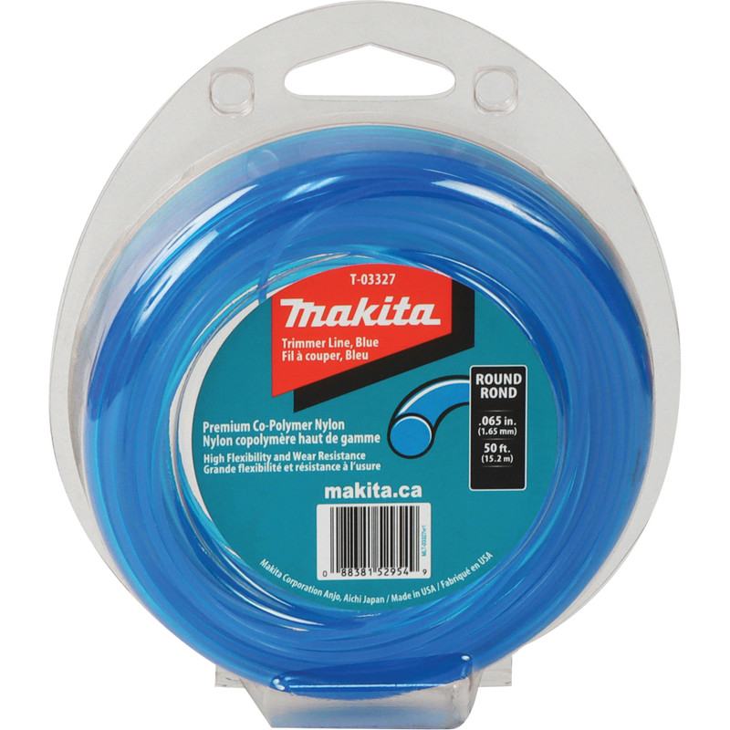 MAKITA ROUND TRIMMER LINE 50FT 0.065IN.