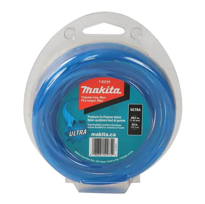 MAKITA ULTRA TRIMMER LINE BLUE 50FT 0.065