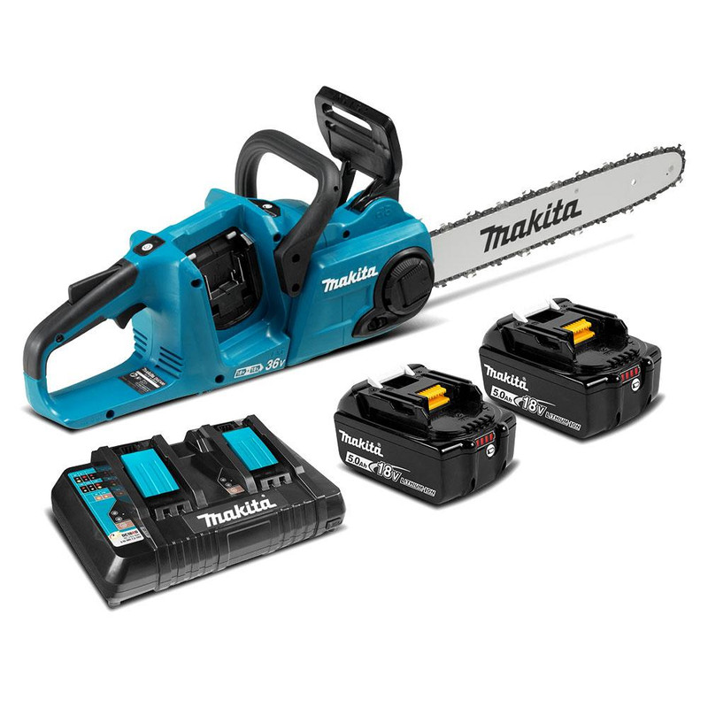 18V BRUSHLESS 16IN. CHAINSAW W/2 BATTERIES