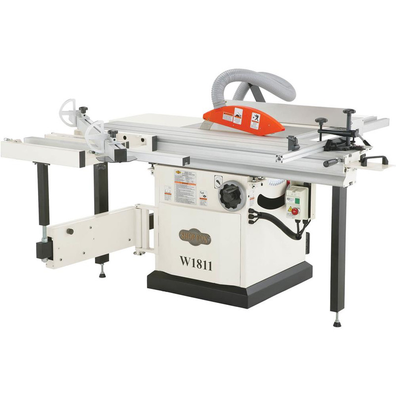SHOP FOX 5 HP 10IN. SLIDING TABLE SAW