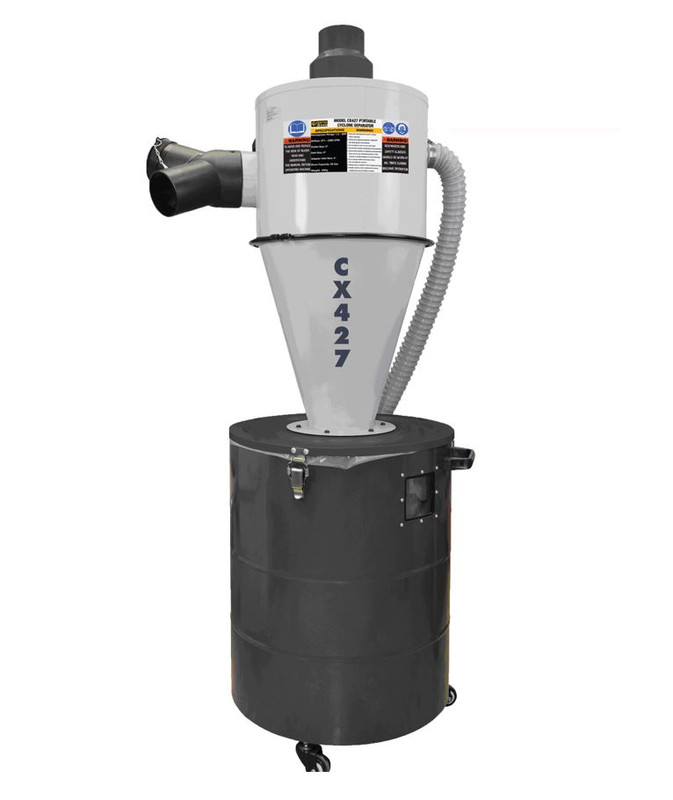 PORTABLE DUST CYCLONE SEPARATOR CRAFTEX
