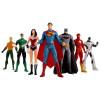 """Justice League New 52 8"""" Bendable Figure 7pc. Set"""