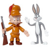 Bugs Bunny & Elmer Fudd Bendable Pair