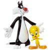 Tweety & Sylvester Bendable Pair