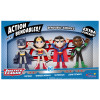 ACTION BENDALBES! - 4pc Justice League Set