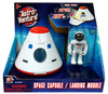 Astro Venture Space Collection: Space Capsule with Lights & Astronaut action figure
