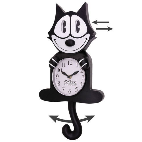 Felix the Cat Animated Clock